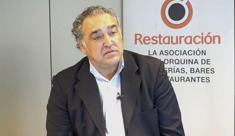 """Alfonso Robledo (Restauración Mallorca): """"El turismo de cruceros es muy importante para nuestro sector"""""""